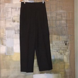 Ann Taylor Charcoal Gray Wool Trousers